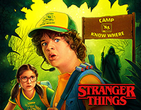 Stranger Things Comics - Science Camp