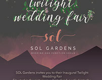 Digital Flyer for Wedding venue