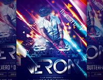 Guest DJ V2 Flyer Template