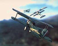WWI Fighter plane pack