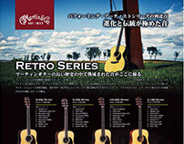 C.F.Martin Guitar RETRO Series 店頭掲示用看板