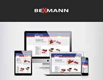 Site e-commerce Bexmann - Portfolio Maison du net