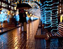 Romantic rain