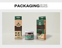 Fasla Cafe Branding & Packaging