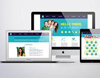 KidsU Responsive Website