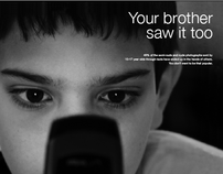 PSA Campaign for Sexting (Cyberbullying)