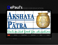 DePaul's Food for Education Website