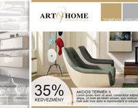 Art of Home webdesign