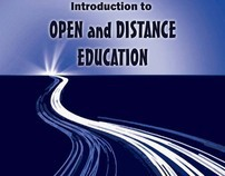Cover Art for Open and Distance Education