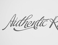 Authentic Roads Logo Identity