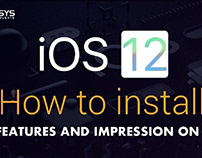 iOS 12: How to install, New Features and Impression