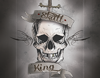 Skull King - Deck cards design. (University project)