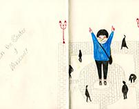 Daily Street Sketchbook