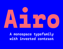 Airo Typefamily. Medium weight free!