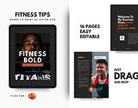 Fitness motivation template