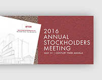 2016 Annual Stockholders Meeting - Eton