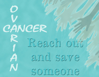 Ovarian Cancer Early Warning Signs Poster