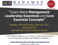 Flyer Design | Hamilton College of the Bahamas