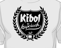 Kibol w kapciach T-shirt
