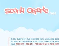 Sconti & Offerte - Layout design