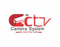 CCTV Camera System Logo Brandng