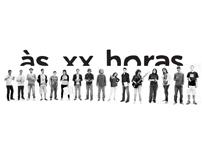 """""""Às xx Horas"""""""