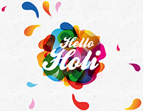 Hello Holi: Branding, Identity & Website