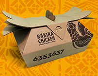 RÁKIRA CHICKEN Delivery Packaging