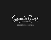 JASMIN EISERT Weddingsinger // Corporate Design // 2018