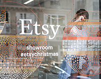 Etsy Christmas Showroom