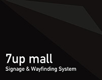 7up mall Signage & Wayfinding System