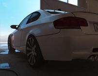 BMW M3 startup