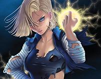 Dragon Ball: Androide N. 18