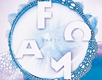 Foam Party Flyer/Poster