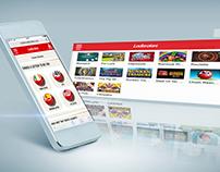 Ladbrokes : Lottos Responsive ReDesign - UI&UX