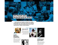 Sennheiser Bluestage Magazine