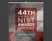 Exhibit Design/Event Collateral: NIST Awards Ceremony