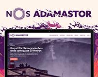NOS Adamastor • Website