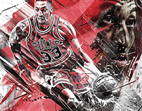 Scottie Pippen Artwork