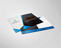 Corporate Business POSTCARD design