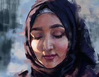 Portrait study 02 - Hiba