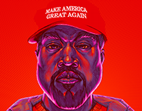 MAGA Kanye | HTML Interactive Motion Illustration