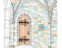 Doorway at Duke Cathedral