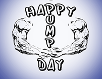 Logo design: Happy Pump Day