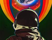 Der lustige Astronaut