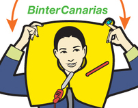 Binter Canarias airlines :: Safety guide Illustration