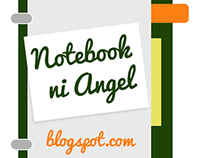 Logo Design for Educational Blog: Notebook ni Angel