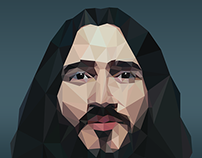 John Frusciante Low Poly