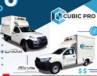 Brochure A4 Cubic pro Promotions