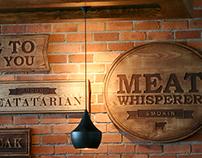 Knife Restaurant Branding, Interiors & Identity Design